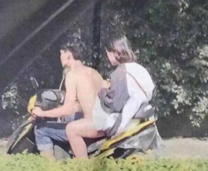 Is That Dude Wearing Clothes?