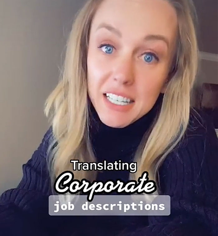 Woman Is Going Viral For Translating Corporate Job Descriptions And Revealing What They Actually Mean