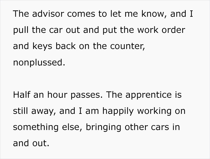 """Customer Drives Into An Auto Repair Shop And Says He Doesn't Want A """"Chick"""" Touching His Car, Makes A Fool Of Himself"""