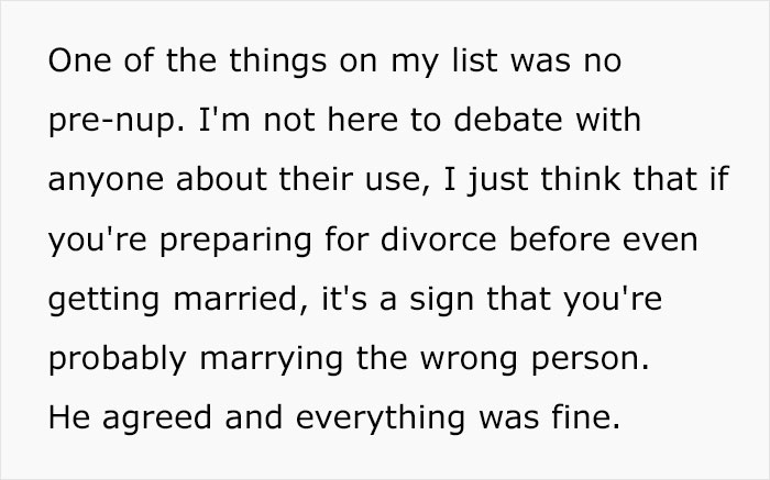 """""""If Anything, He's The Gold Digger Here"""": Woman Sparks Family Drama By Refusing To Sign A Prenup"""