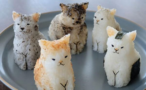 These Rice Balls Made By A Japanese Artist Look So Good, It'd Be A Sin To Eat Them (81 Pics)