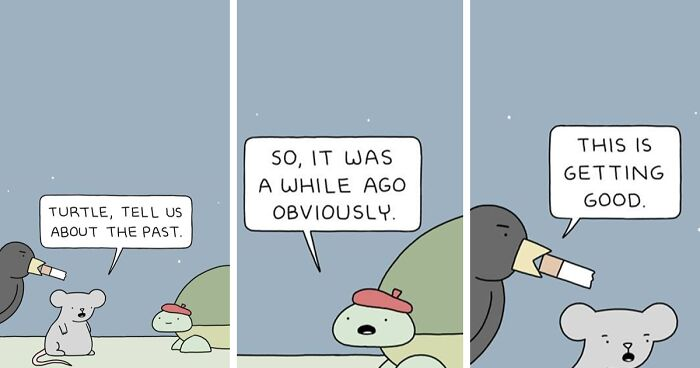 """70 Funny Comics With Unexpected Endings By """"Poorly Drawn Lines"""" (New Pics)"""