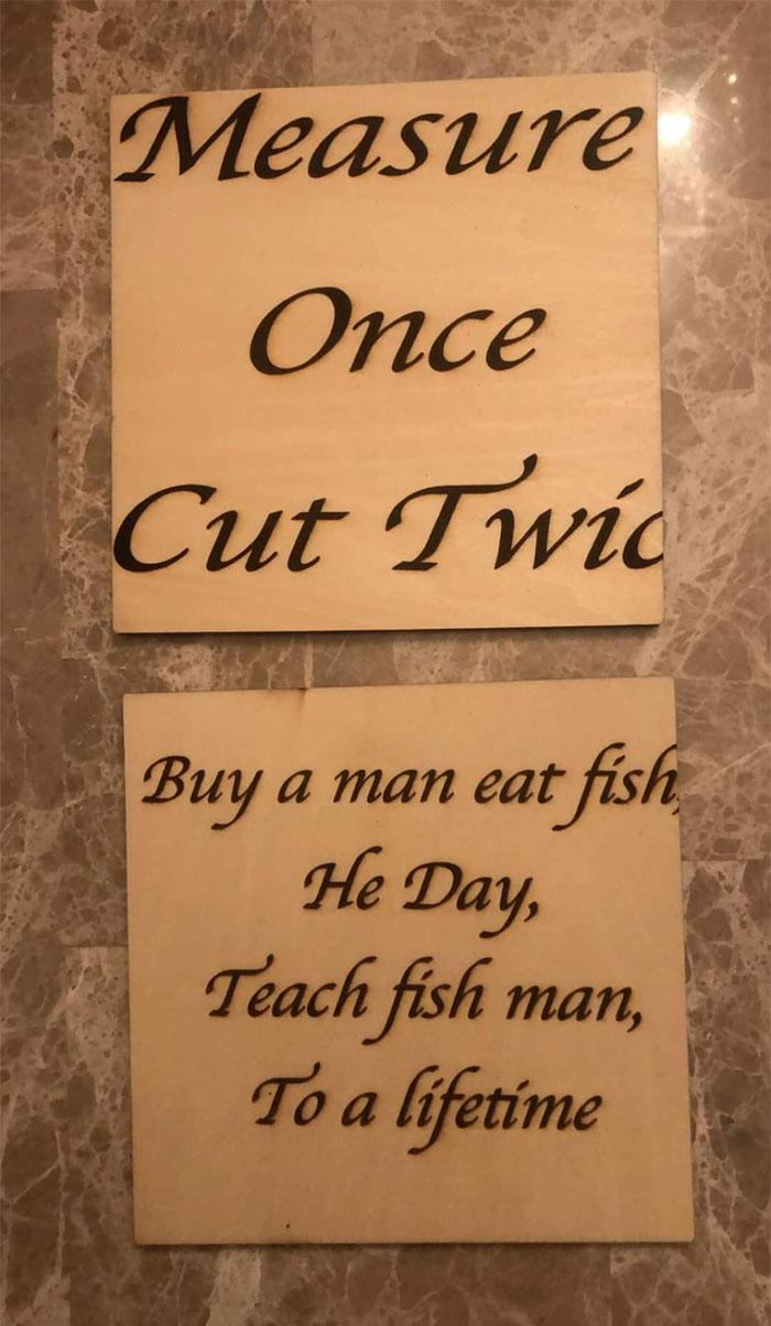 Do Not Teach Fish Man He Will Destroy Us All