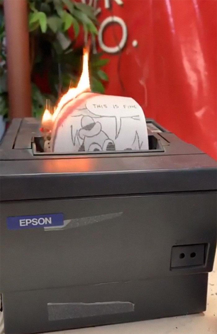 La impresora del infierno