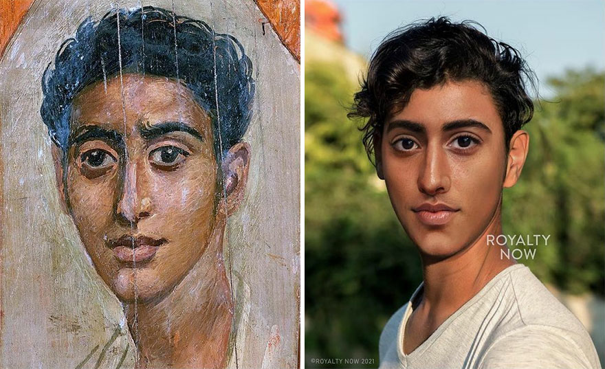Fayum Mummy Portraits: Unknown Man
