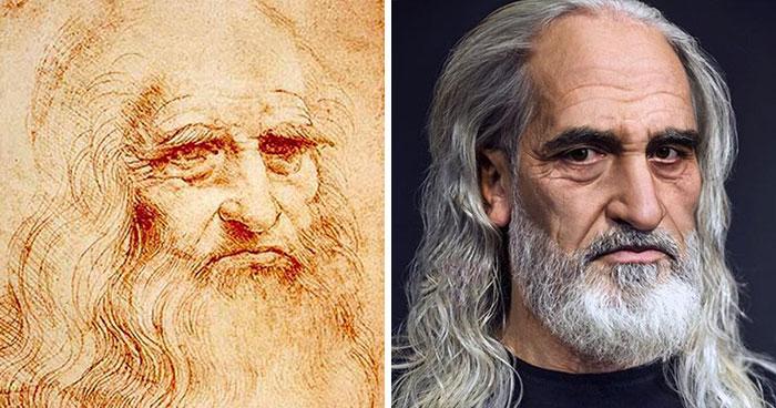 Así es como se verían en la actualidad algunas de las figuras históricas más famosas (nuevas imágenes)