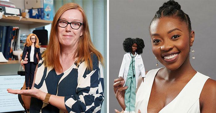 Barbie Honored Six Covid-19 Pandemic Women Heroes With Custom Dolls