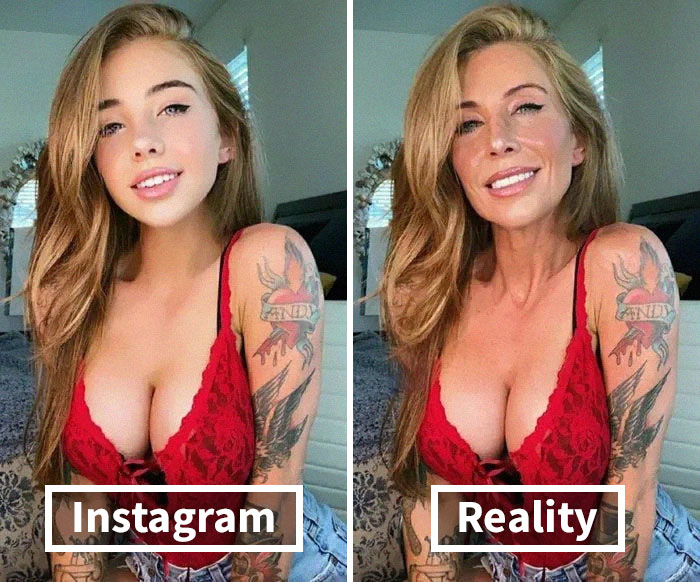 40 Times People Noticed Instagrammers Who Edited Their Pictures So Much, They Exposed Them Online (New Pics)