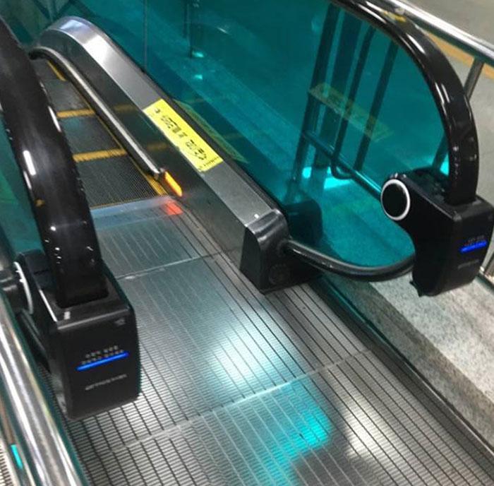Escalator Sanitizer In South Korea