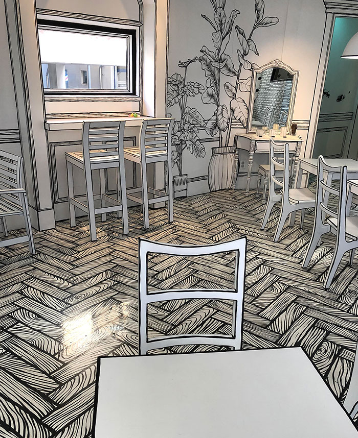 This 2D Café We Visited In Seoul