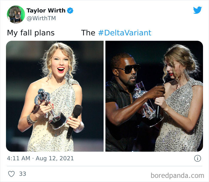 """94 Of The Best """"My Fall Plans vs. The Delta Variant"""" Tweets"""