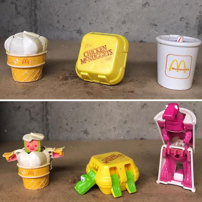Los transformers del McDonalds