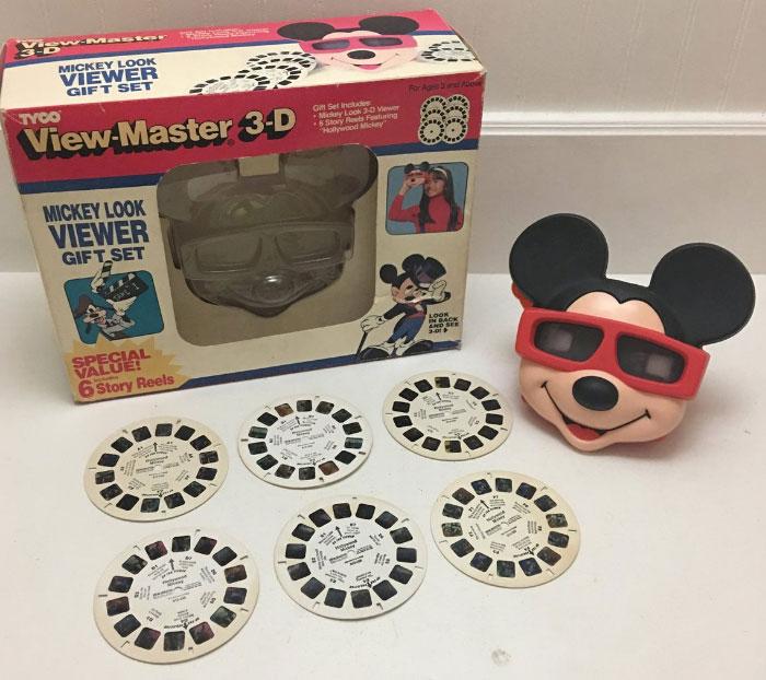 Otro view-master pero de Mickey