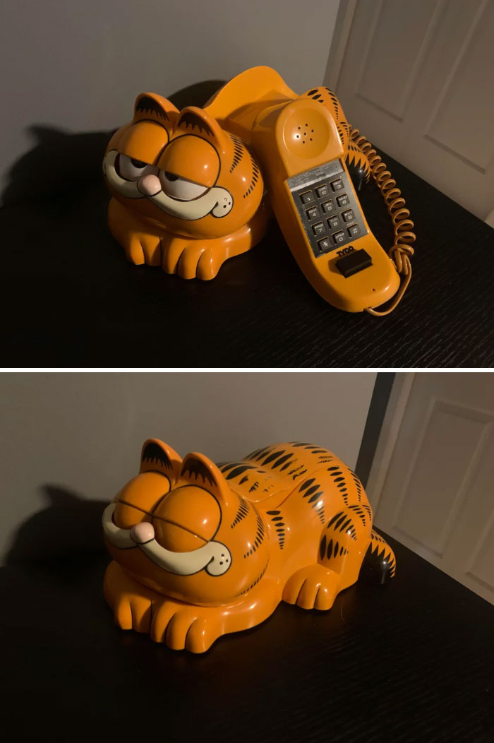 Teléfono de Garfield de 1981