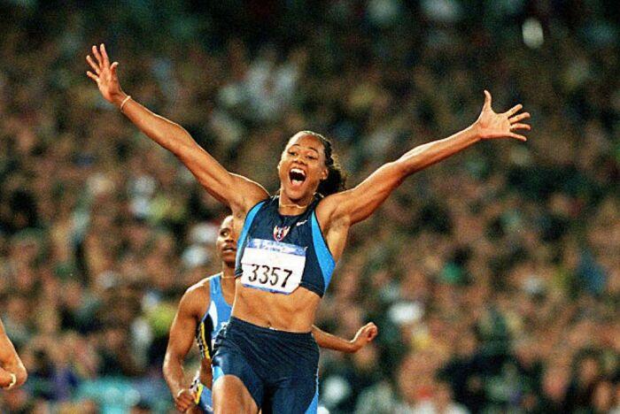 2000: Marion Jones, USA
