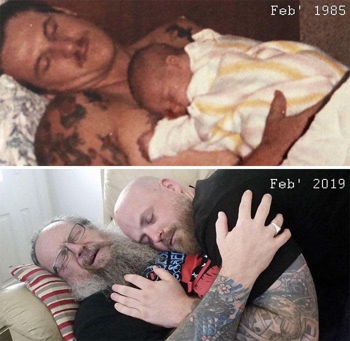 34 Years Apart.
