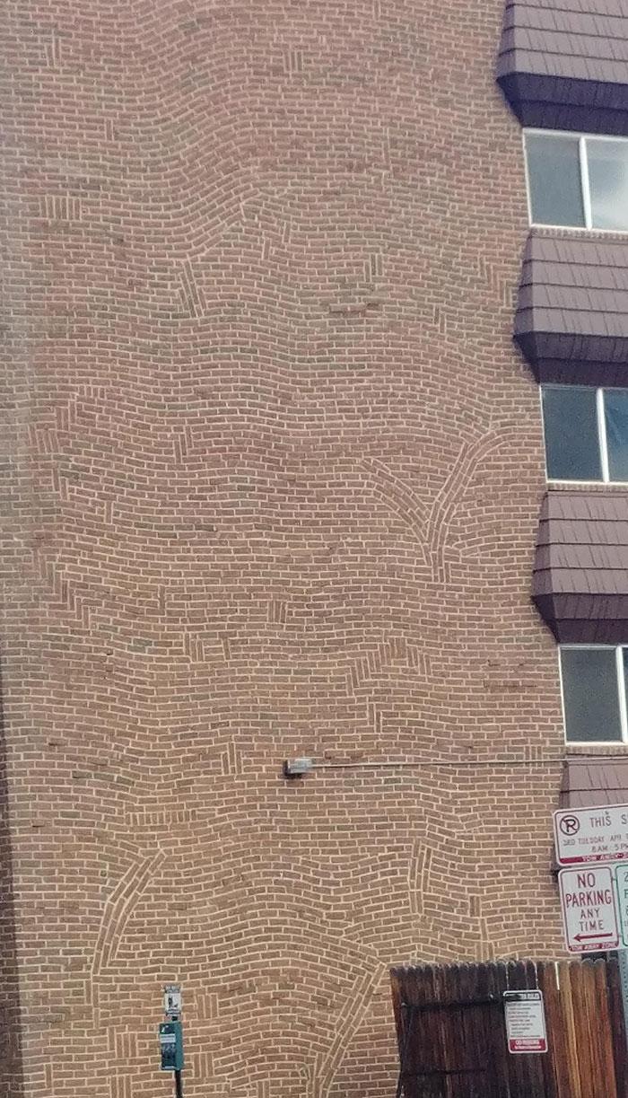 This Bizarre Brickwork On My Neighboring Building