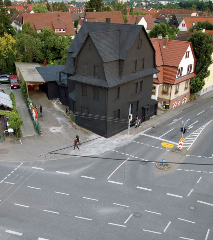 A Black House In Germany