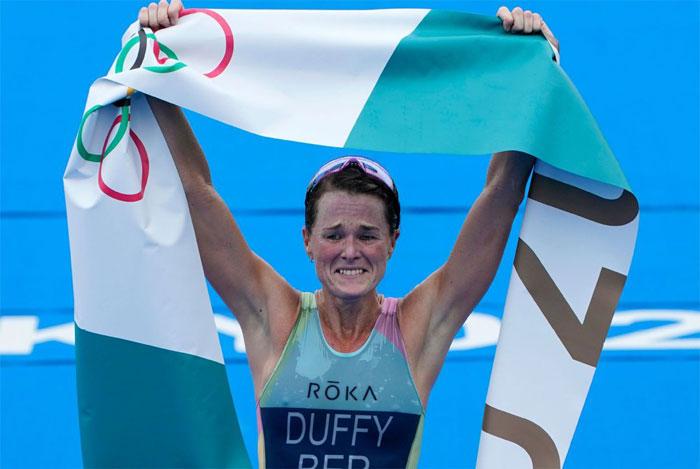 Flora Duffy gana el primer oro de Bermudas en los Juegos Olímpicos de Tokio 2020