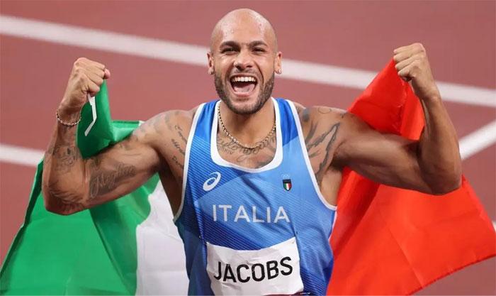 El hombre más rápido del mundo es Lamont Marcell Jacobs, que ha corrido los 100 metros en 9,80 segundos