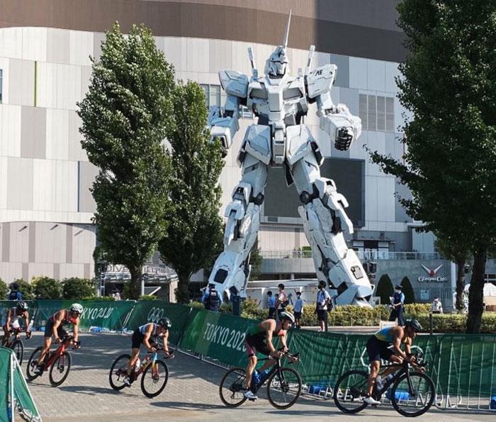 Una imagen que no se vería en otras olimpiadas