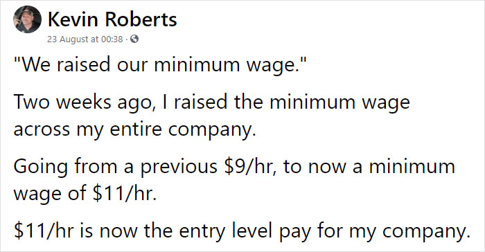 What Happens When You Raise The Minimum Wage: Chef Shares How This Decision Changed His Business Completely