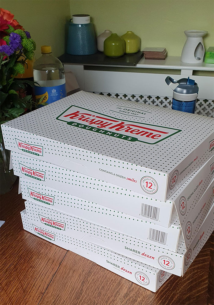 Bought 60 Doughnuts For The Office Today To Celebrate My 20th Birthday, Only To Be Told I Need To Self Isolate/Work From Home For The Next Week