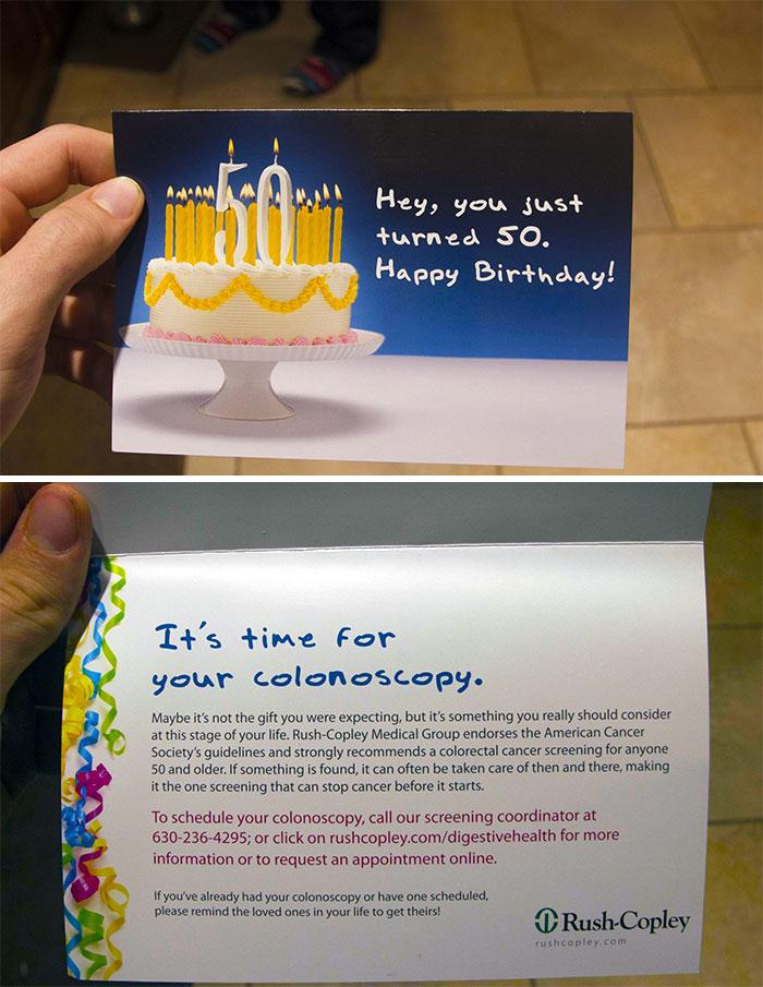 The Worst Birthday Card I've Ever Gotten