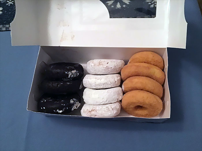 Today Is My Birthday, And All I Can Do Due To Restrictions Is Buy A Whole Box Of Donuts For Myself