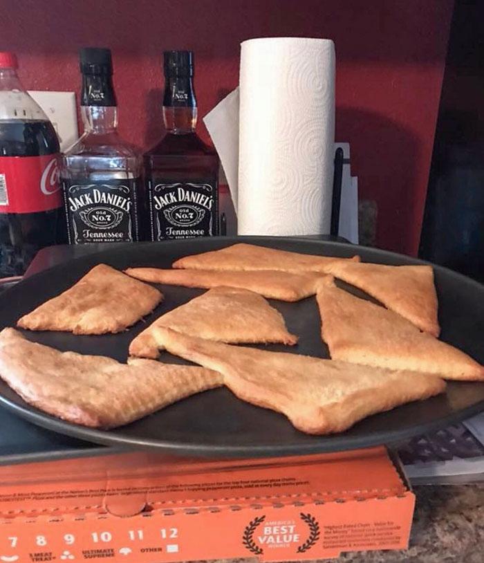 La madre de mi amiga pensó que los croissants se enrollarían solos al cocinarse