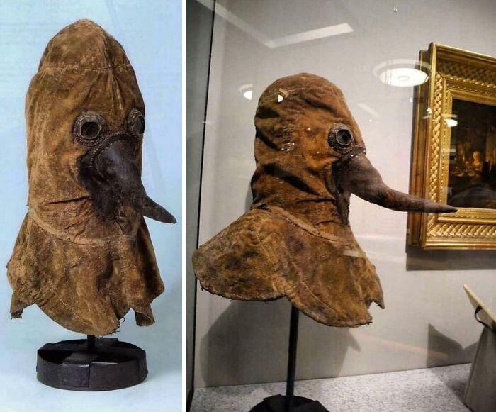 A 16th Century Plague Doctors Mask