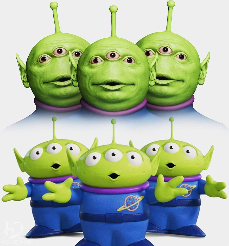 The Aliens From Toy Story