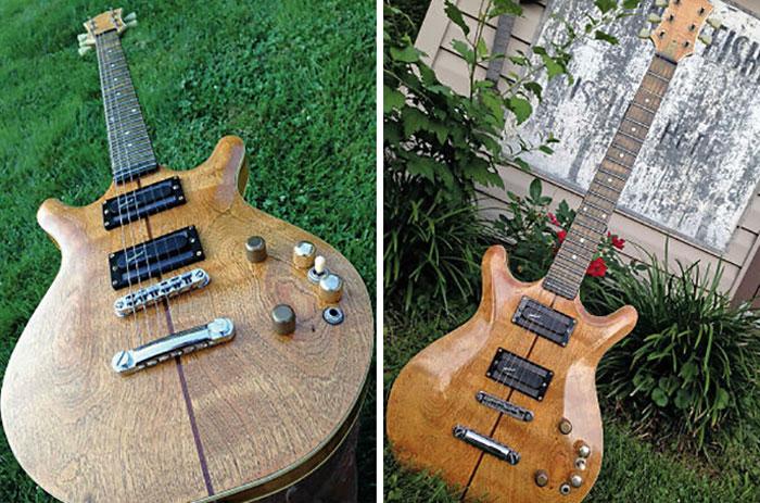 """""""Lady"""", una guitarra eléctrica construida a escondidas por un preso de una cárcel estatal de Pensilvania"""