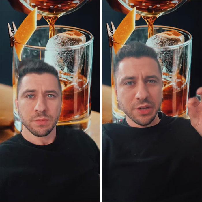 Por qué el alcohol se sirve en vasos transparentes