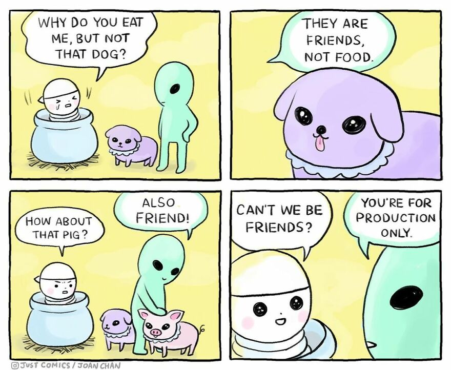 These Comics Showing The Suffering Of Animals Will Make You Think ( 77 Comics)