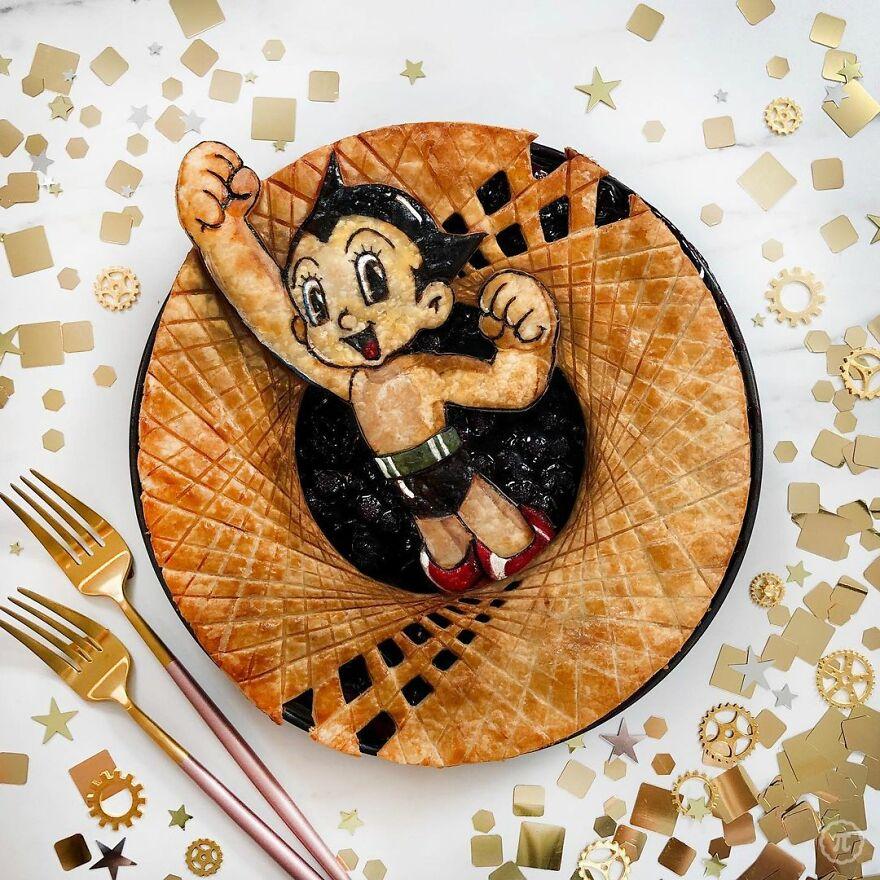 Astro Boy Pie