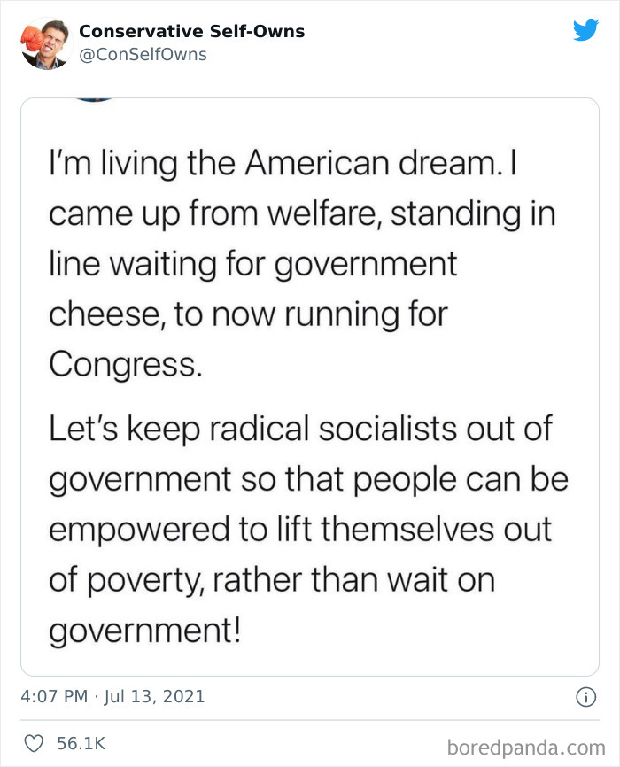 Conservative-Self-Owns-Fails