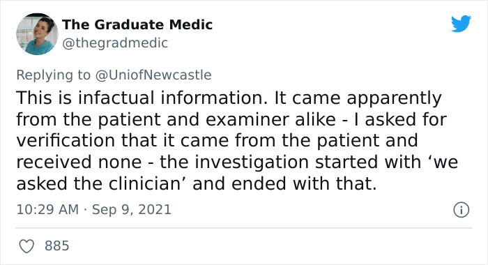 Med Student Was Penalized By Examiners For 'The Most Inappropriate Dress They Had Ever Seen'
