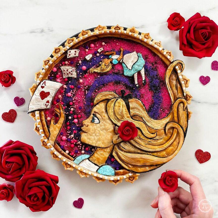 Alice In Wonderland Pie