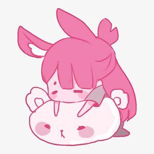 Bored bunny