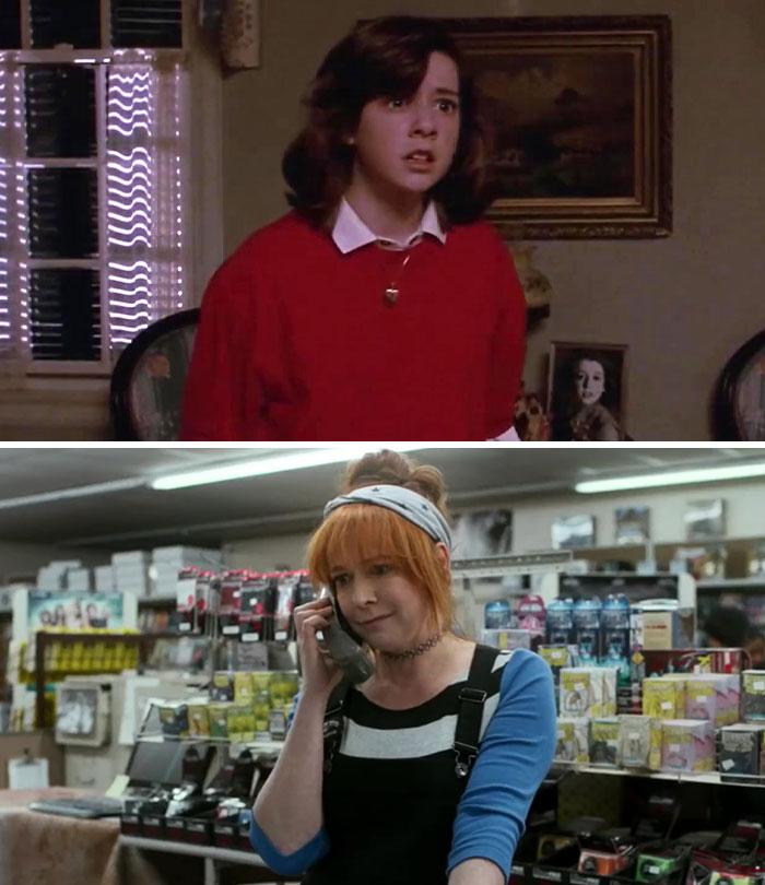 Alyson Hannigan As Jessie Mills In My Stepmother Is An Alien (1988)