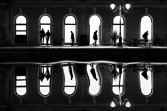 Siluetas y reflejos por Giancarlo Staubmann