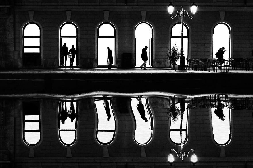 Silhouttes And Reflections By Giancarlo Staubmann
