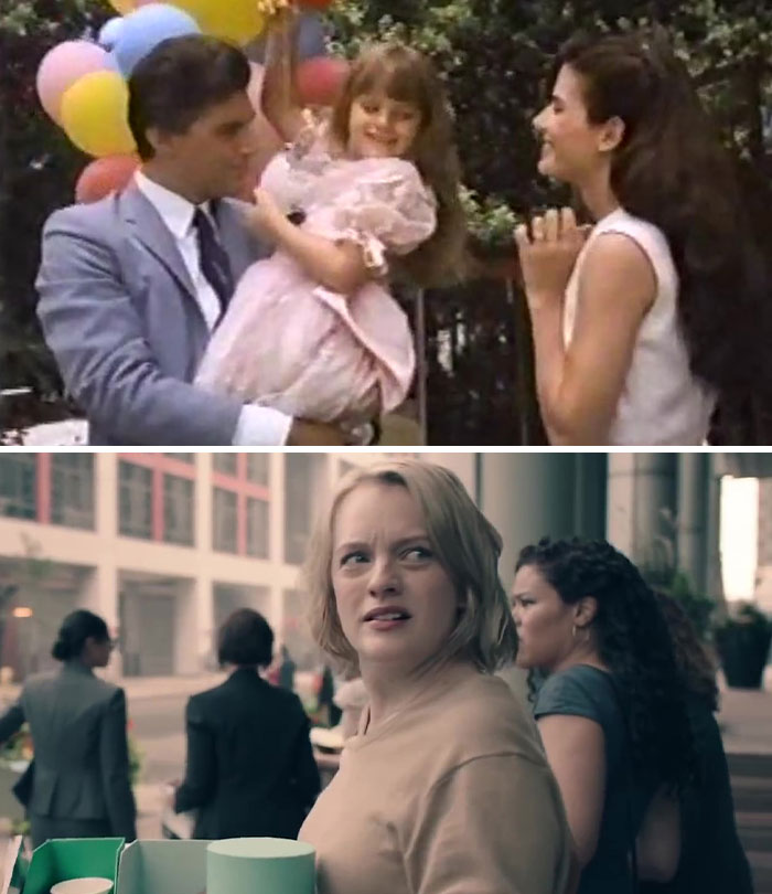 Elisabeth Moss As Lucky (Age 6) In Lucky Chances (1990)