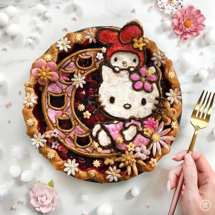 Hello Kitty Pie