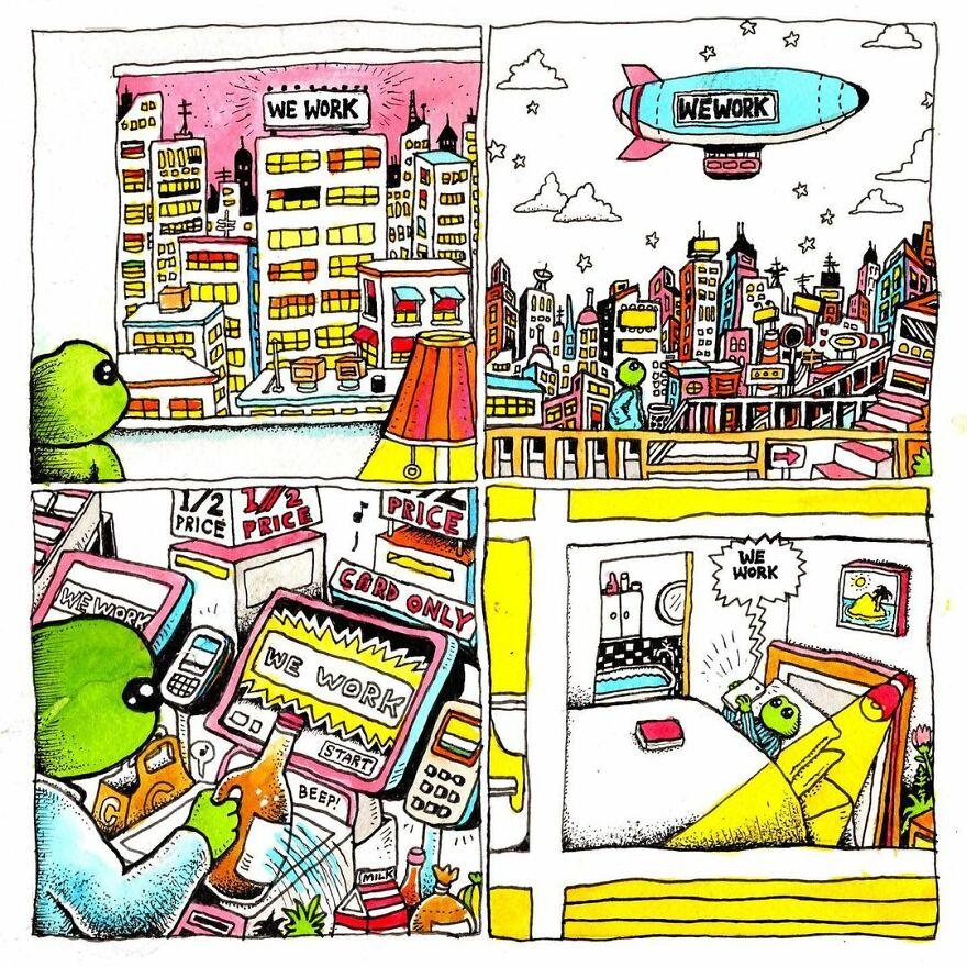 Meet Bjenny Montero's Melancholy Comics