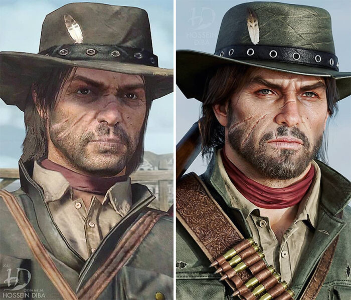 John Marston de Red Dead Redemption