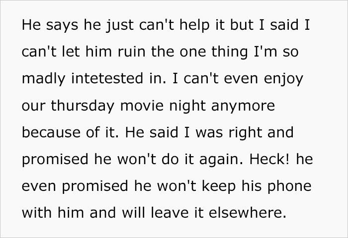 Woman Finally Snaps After Her BF Keeps Spoiling The Endings During Movie Night, Asks Who The Real A-Hole Is