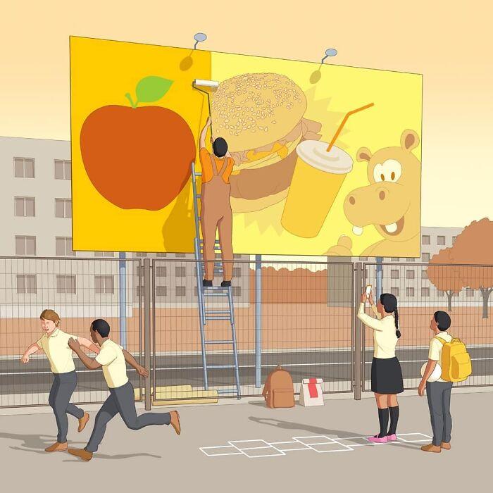 Políticas alimentarias para niños
