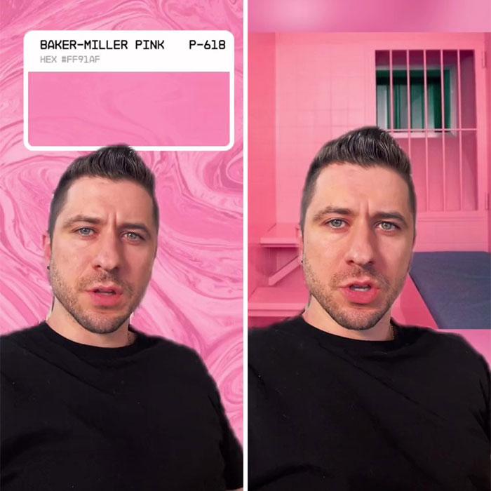 La psicología detrás del color conocido como rosa Baker-Miller